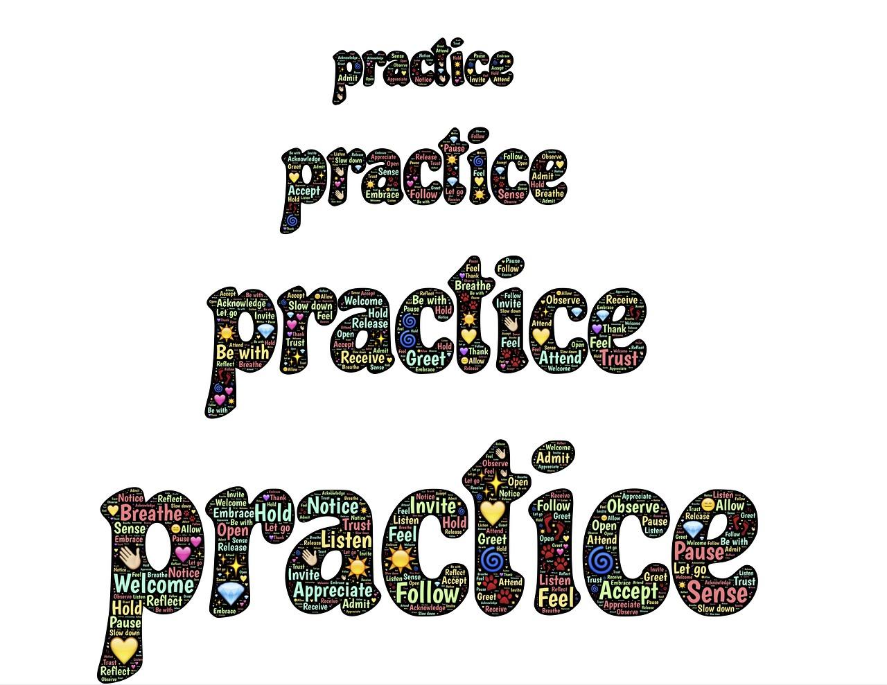 Yoga asana practice