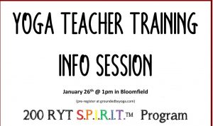 YOga Teacher Training trauma Informed