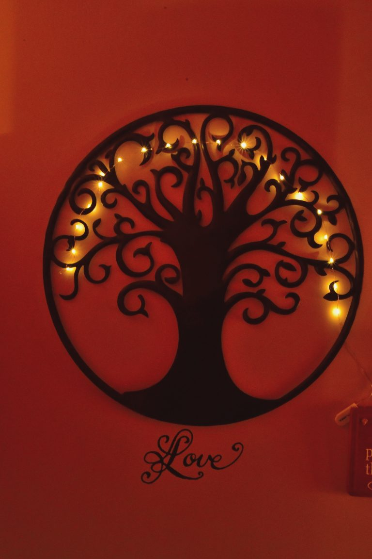tree art lights