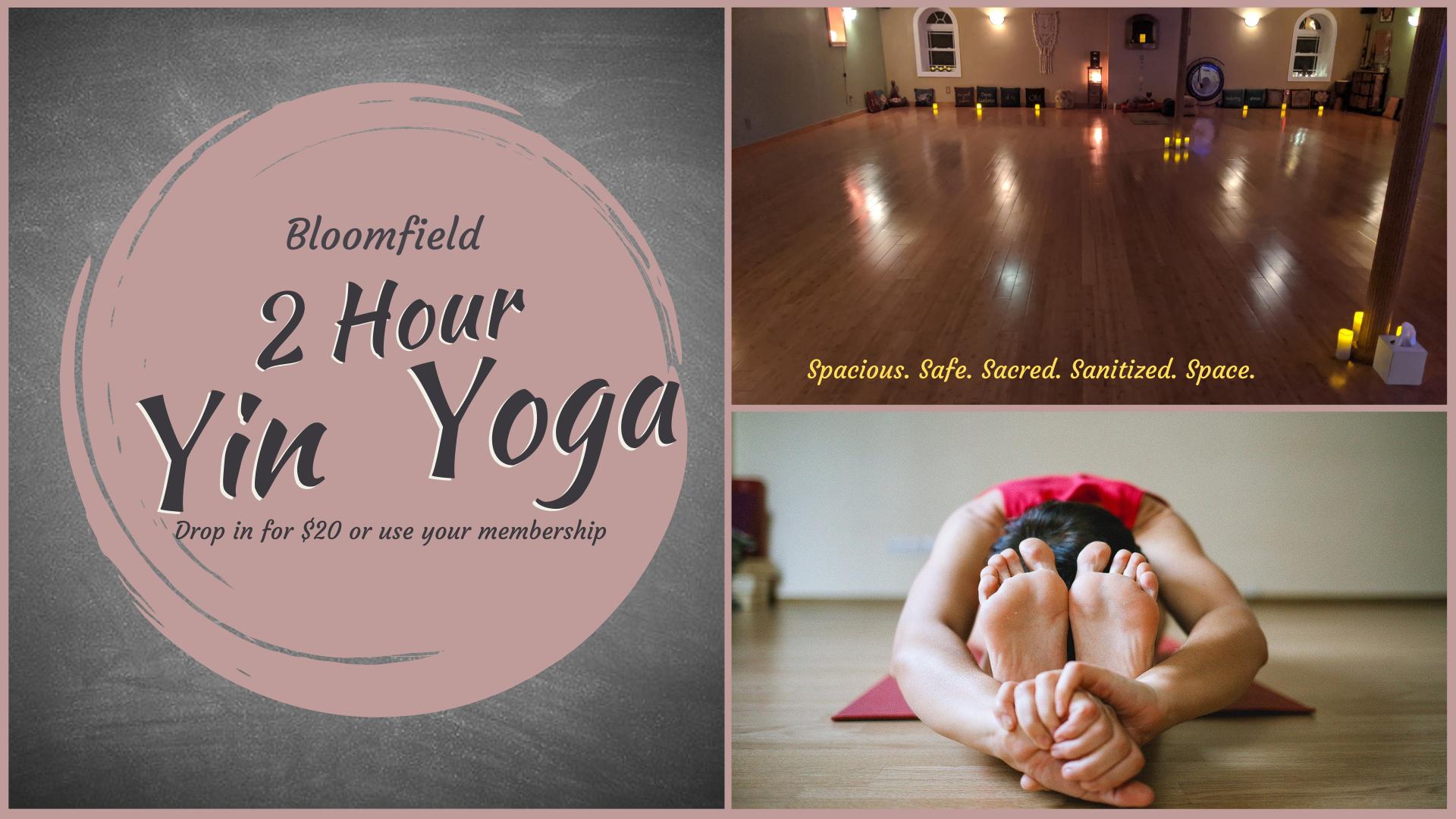 2 Hour Yin Yoga